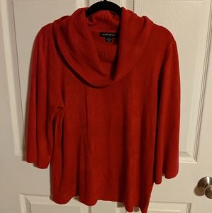 2 sweaters XL Red and cream
